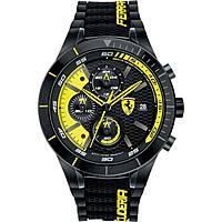 montre chronographe homme Scuderia Ferrari Red FER0830261