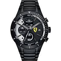 montre chronographe homme Scuderia Ferrari Red FER0830267