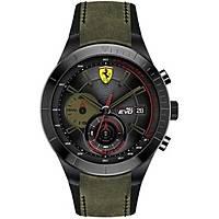 montre chronographe homme Scuderia Ferrari Redrev FER0830397