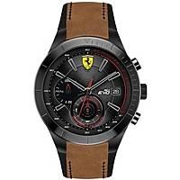 montre chronographe homme Scuderia Ferrari Redrev FER0830398