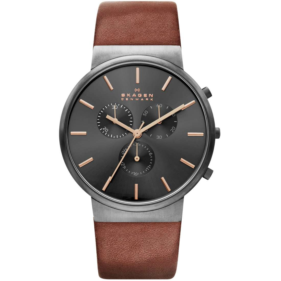 montre chronographe homme Skagen Ancher SKW6106