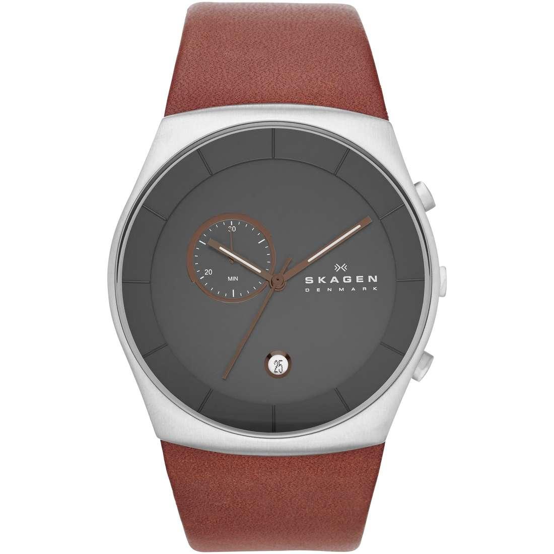 montre chronographe homme Skagen Havene SKW6085