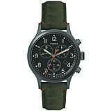montre chronographe homme Timex Allied Canvas TW2R60200