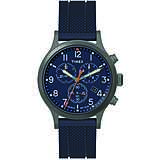 montre chronographe homme Timex Allied Pu TW2R60300