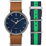 montre chronographe homme Timex Fairfield Box Set TWG016300