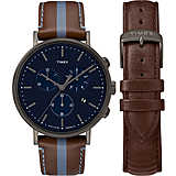 montre chronographe homme Timex Fairfield Box Set TWG016800