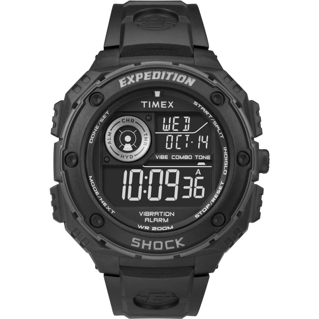 montre chronographe homme Timex Vibe Shock T49983