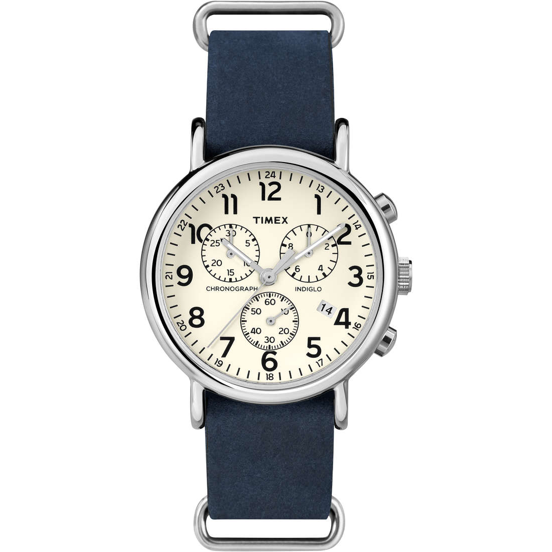 montre chronographe homme Timex Weekender TW2P62100