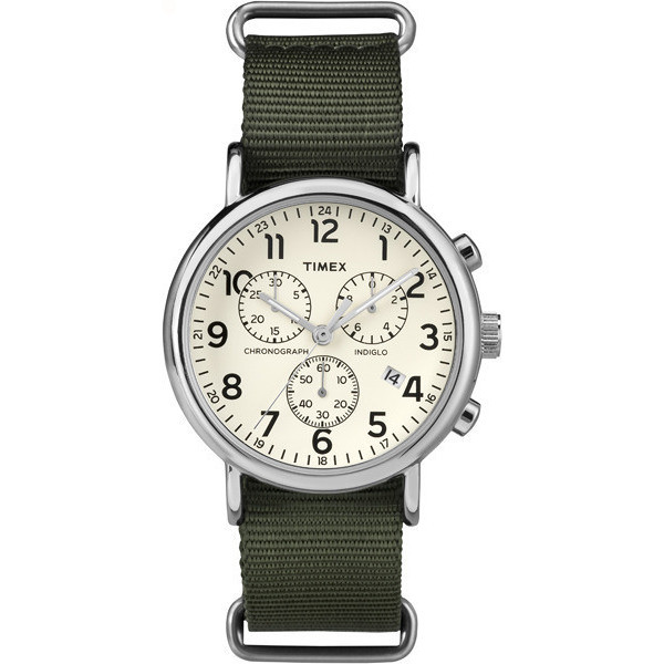 montre chronographe homme Timex Weekender TW2P71400