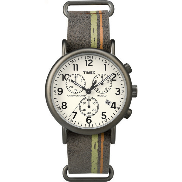 montre chronographe homme Timex Weekender TW2P78000
