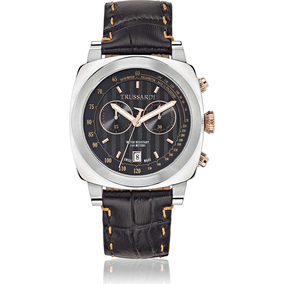 montre chronographe homme Trussardi 1911 R2471602001