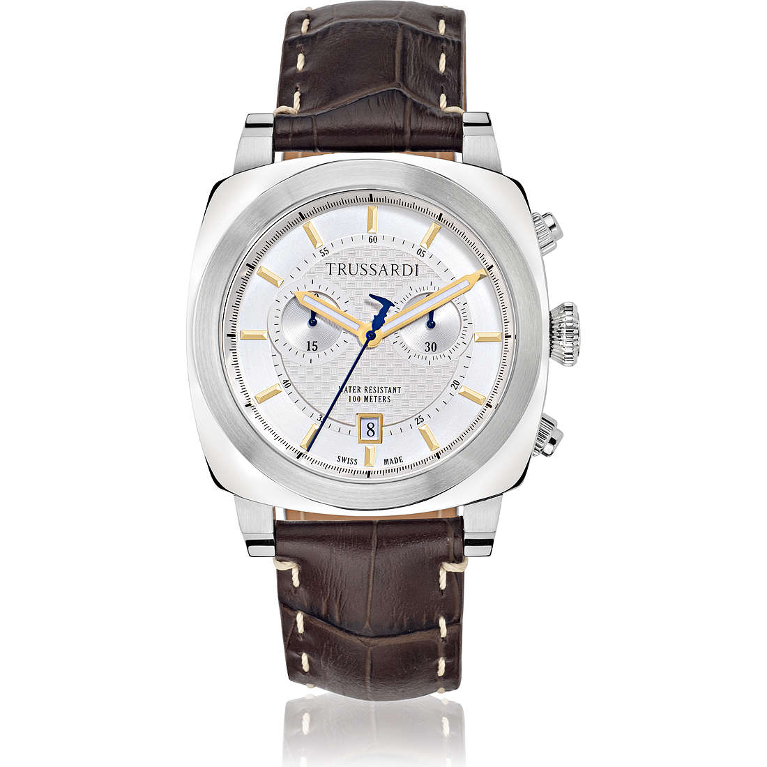 montre chronographe homme Trussardi 1911 R2471602002