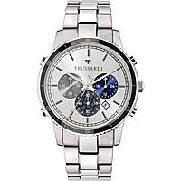 montre chronographe homme Trussardi Heritage R2473617002