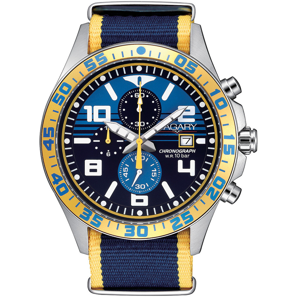 montre chronographe homme Vagary By Citizen Aqua 39 IA9-217-70