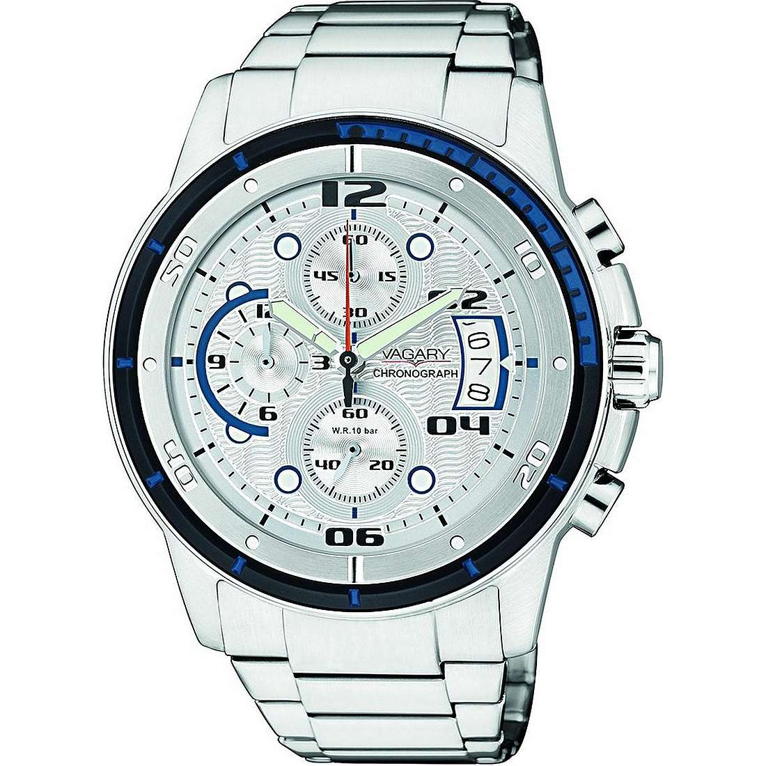 montre chronographe homme Vagary By Citizen IA8-211-11