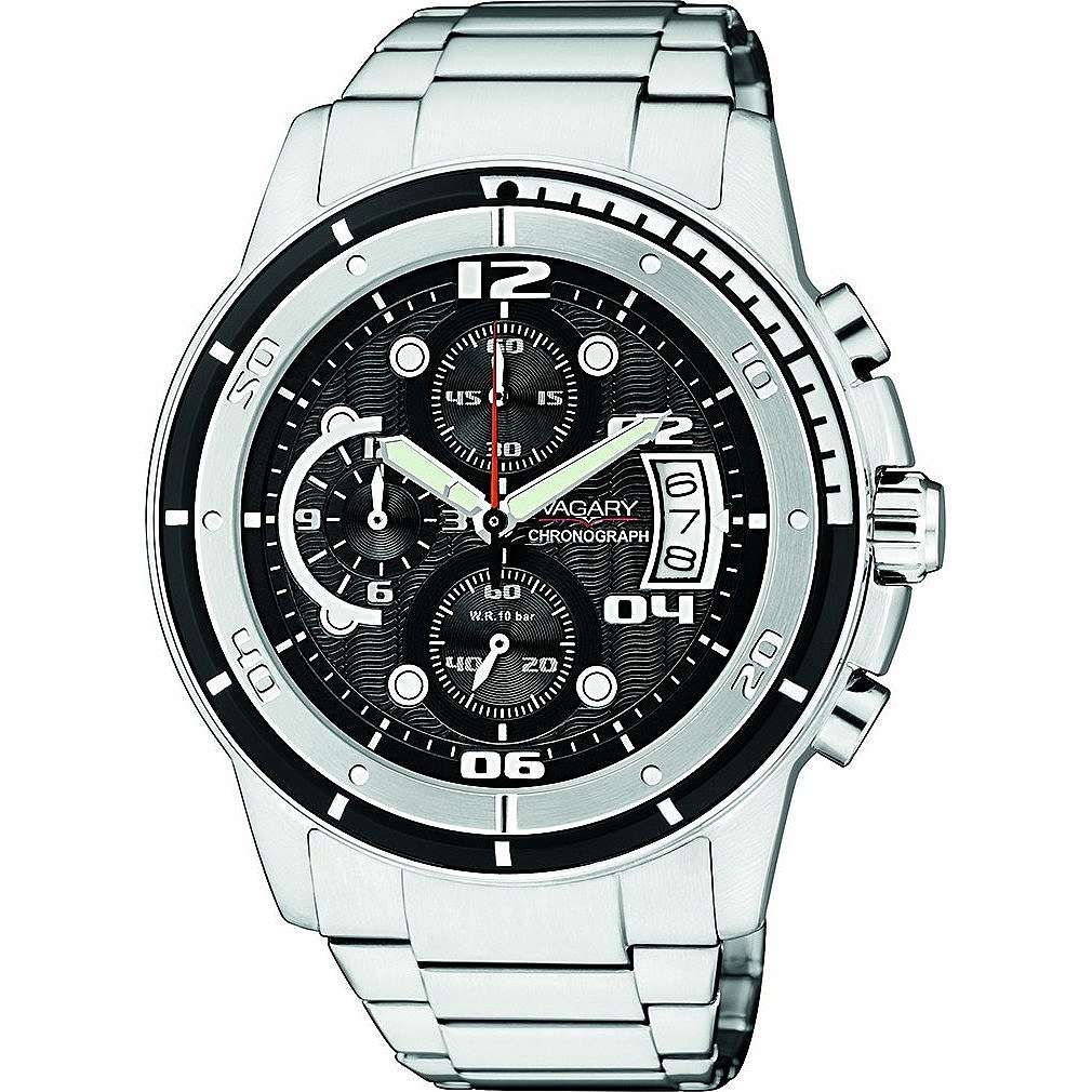 montre chronographe homme Vagary By Citizen IA8-211-51