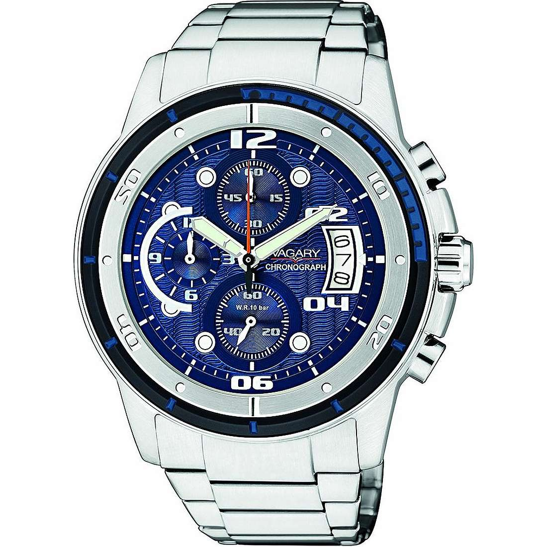 montre chronographe homme Vagary By Citizen IA8-211-71