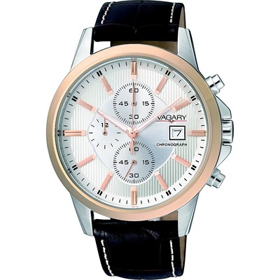 montre chronographe homme Vagary By Citizen IA9-136-10