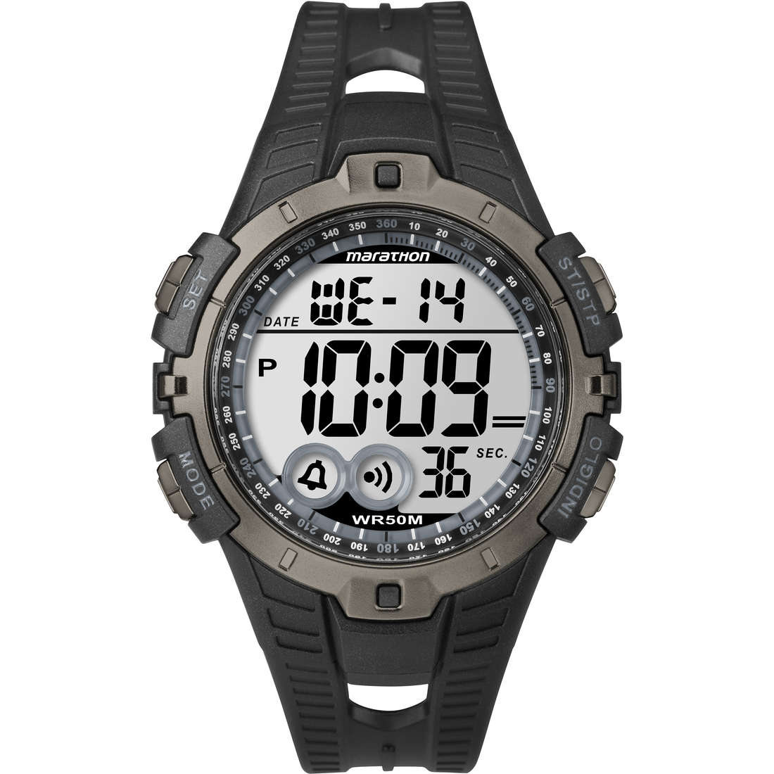 montre chronographe unisex Timex Marathon Digital T5K802