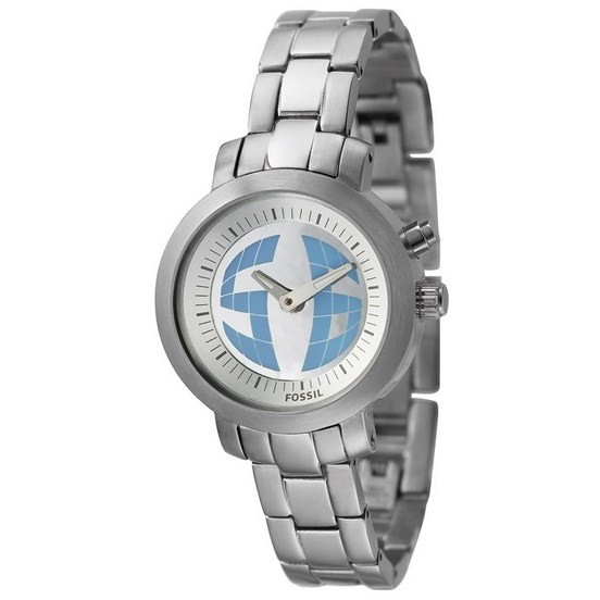 montre dual time femme Fossil BG2197