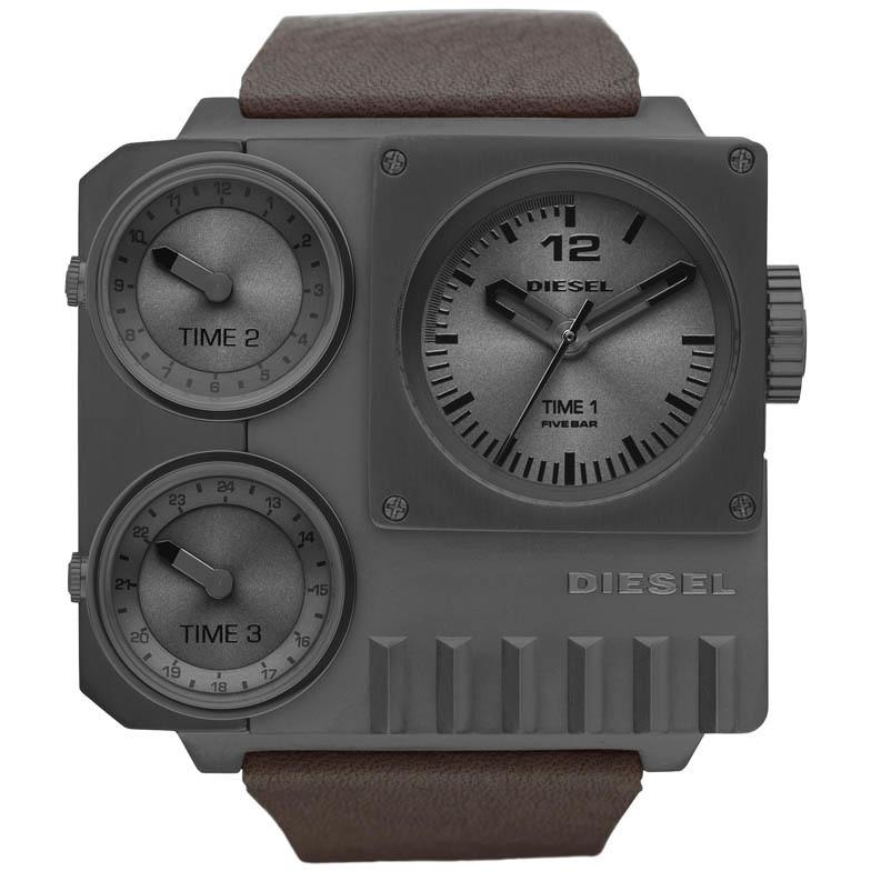 montre dual time homme Diesel DZ7249