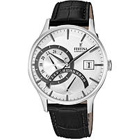 montre dual time homme Festina Retro F16983/1
