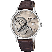 montre dual time homme Festina Retro F16983/2