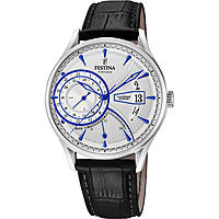 montre dual time homme Festina Retro F16985/1
