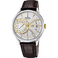 montre dual time homme Festina Retro F16985/2