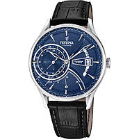 montre dual time homme Festina Retro F16985/3