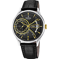 montre dual time homme Festina Retro F16985/4