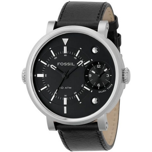 montre dual time homme Fossil FS4244