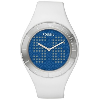 montre dual time homme Fossil JR1211