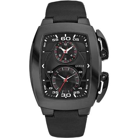 montre dual time homme Guess W15504G1