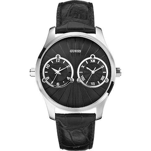montre dual time homme Guess W70004G2