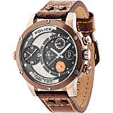 montre dual time homme Police Adder R1451253002