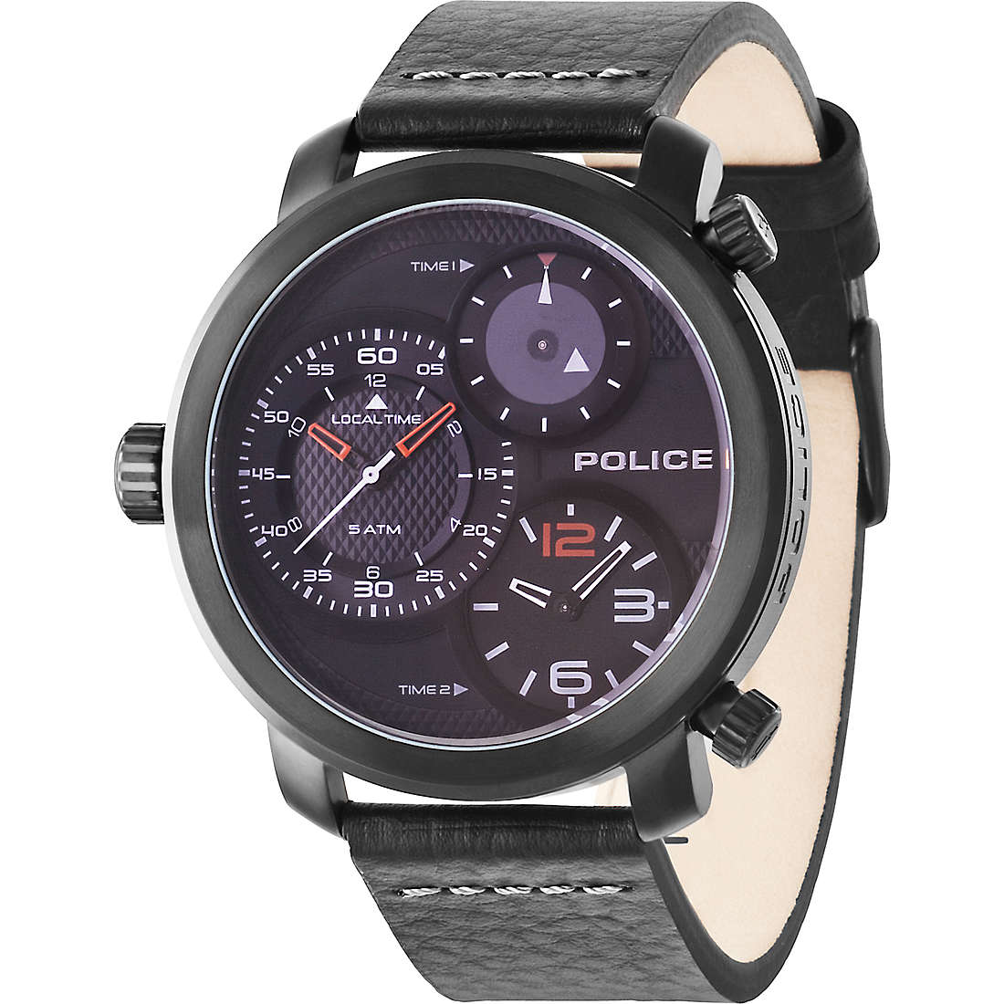 montre dual time homme Police Mamba R1451249001