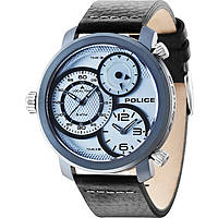 montre dual time homme Police Mamba R1451249002