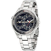 montre dual time homme Sector 235 R3253161004