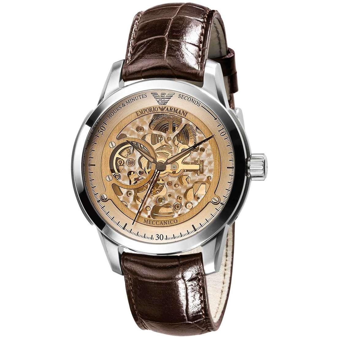 montre mécanique homme Emporio Armani AR4627