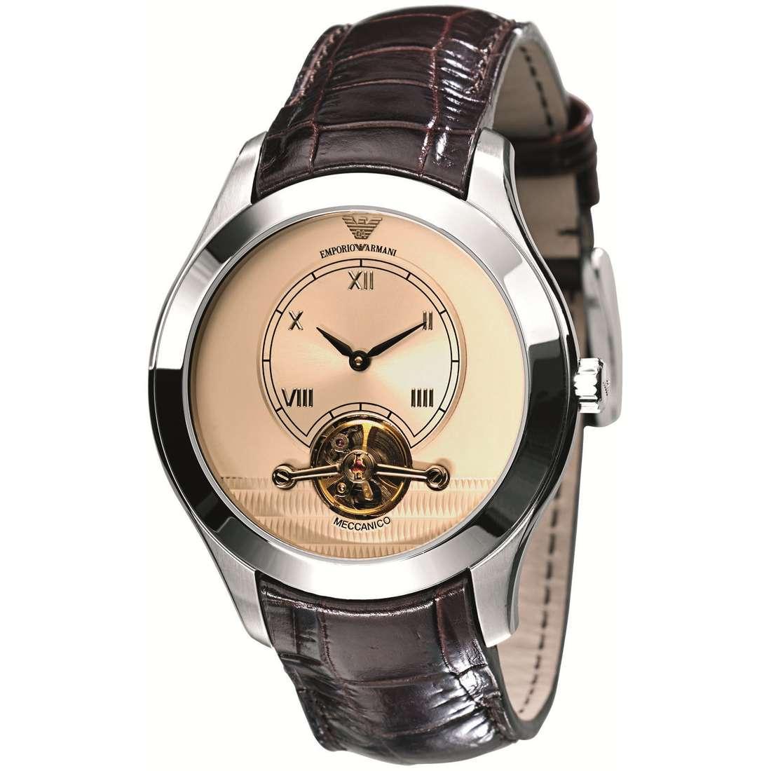 montre mécanique homme Emporio Armani AR4638