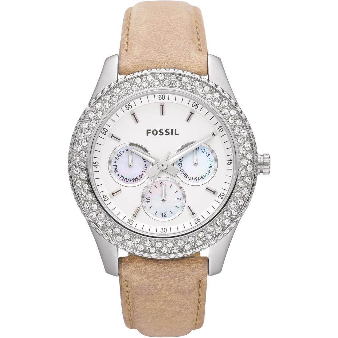 montre multifonction femme Fossil ES2997