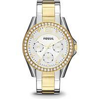 montre multifonction femme Fossil Riley ES3204