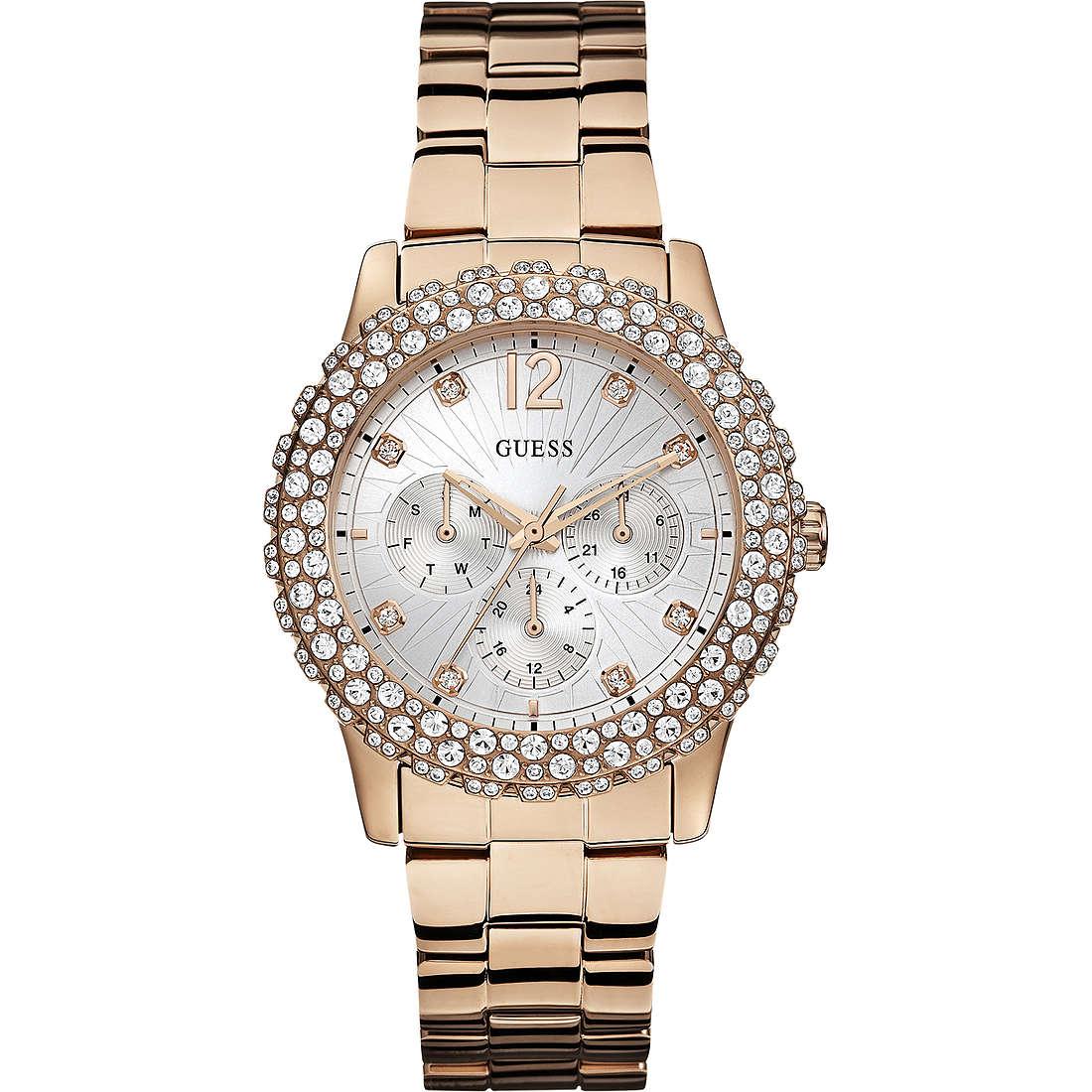 montre multifonction femme Guess Rose Gold W0335L3