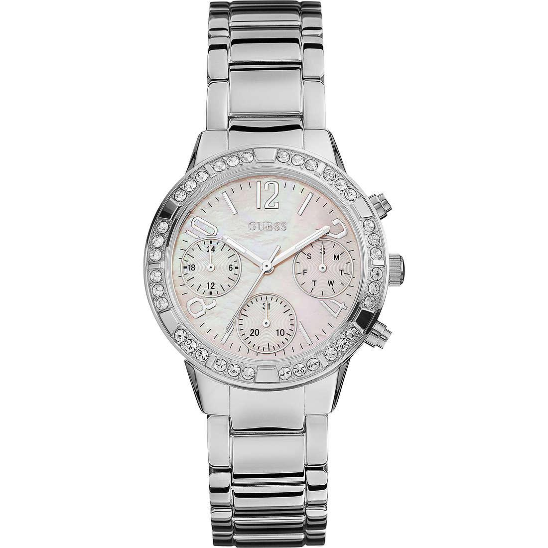 montre multifonction femme Guess Sport-Chic W0546L1