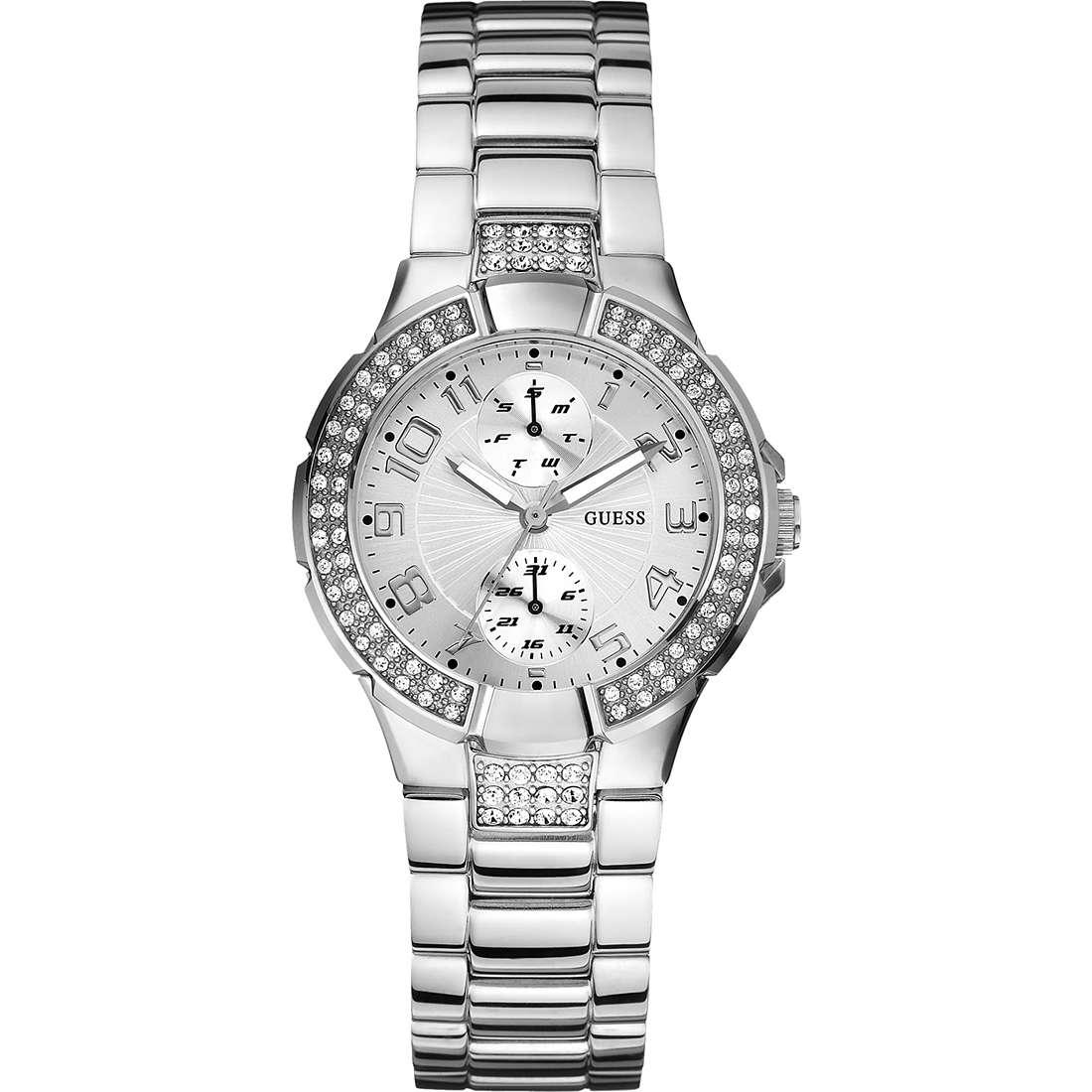 montre multifonction femme Guess W12638L1