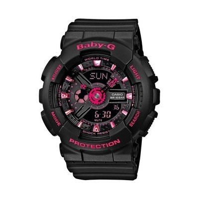 montre multifonction homme Casio BABY-G BA-111-1AER