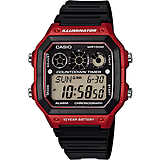 montre multifonction homme Casio CASIO COLLECTION AE-1300WH-4AVEF