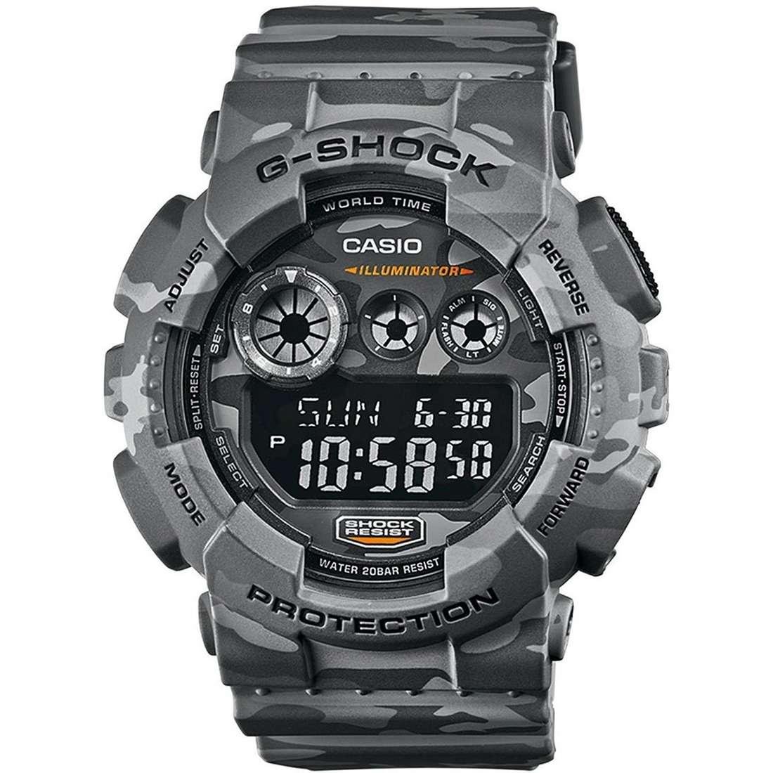 montre multifonction homme Casio G-SHOCK GD-120CM-8ER