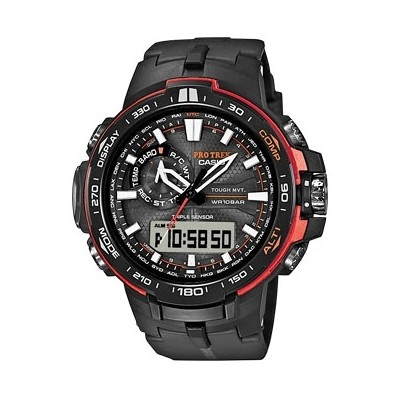 montre multifonction homme Casio PRO-TREK PRW-6000Y-1ER